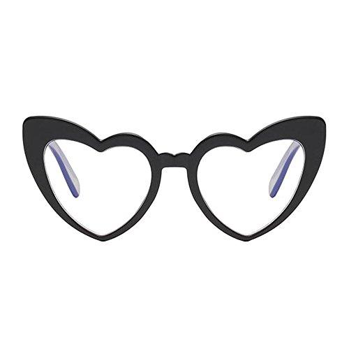 soleil Noir Élégant Style Polarisé Oeil En Lunettes protectrices de de Classique chat Love forme lunettes Protection Deylaying Glasses Lunettes de Heart UV Rétro wOqaBHX