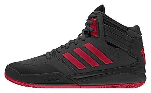 adidas D Rose 773 Iv Td, Zapatillas de Deporte Exterior para Hombre Negro / Rojo (Negbas / Escarl / Negbas)