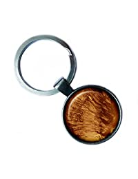 NASA Photograph Mars Surface Keychain Keyring