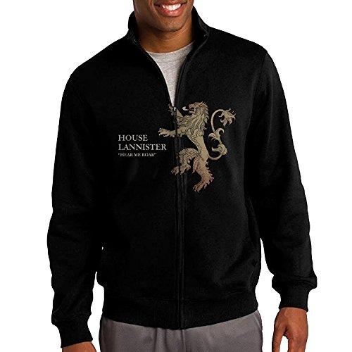 game of thrones house lannister men 39 s pullover hoodies. Black Bedroom Furniture Sets. Home Design Ideas