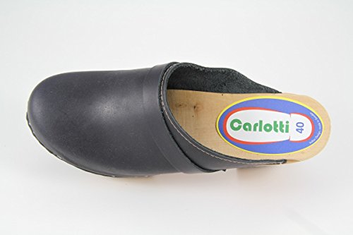 Bleu Carlotti Design Sabots Paula Foncé Swt0fCxx