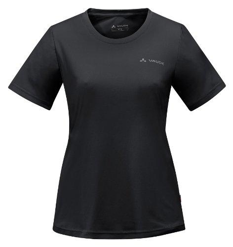 VAUDE T-Shirt Womens Micro Mikeli IV - Camiseta Negro