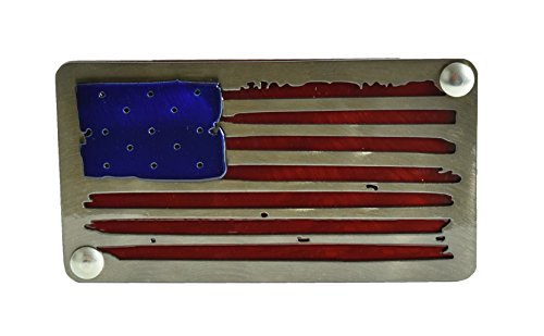 - BLUE LUCA Distressed American Flag Hitch Cover | American Flag Hitch Cover | Patriotic Hitch Cover Hitch Cover | Hitch Plug | Hitch Plug for Trucks | Hitch Cover Plug | Hitch Cover 2 Inch