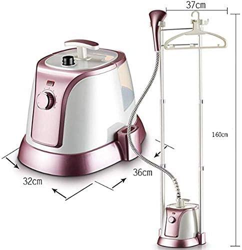 Machine à vapeur en tissu, repasseuse à vapeur professionnelle pour vêtements suspendus, réglage de la vapeur à 8 vitesses, avec brosse en tissu/gants anti-brûlants