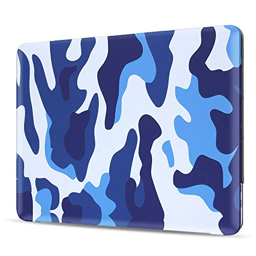 iBenzer MacBook Pro 13 Inch Case 2012-2015, Soft Touch Hard Case Shell Cover for Apple MacBook Pro 13 with Retina Display A1425 1502, Ocean - Macbook Retina Case Camo 13 Pro