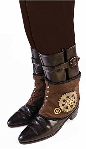 Steampunk Mechanical Gear Brown