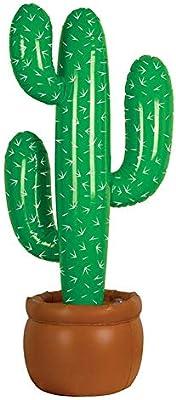 gaeruite Cactus Inflable Base en Maceta, 95cm Cactus Inflable ...