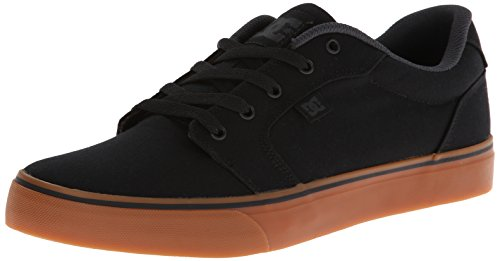 DC Shoes Mens Shoes Anvil Tx - Low-Top Shoes - Men - US 13 - Black Black/Gum US 13 / UK 12 / EU 47