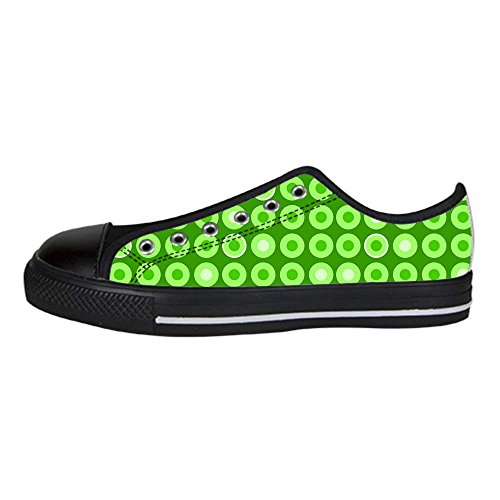 Dalliy polka dots Mens Canvas shoes Schuhe Lace-up High-top Sneakers Segeltuchschuhe Leinwand-Schuh-Turnschuhe E