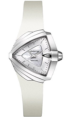 Hamilton H24251391 Modern Ladies Ventura S Watch White Dial and Band