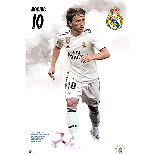 6de72be4a97 Real Madrid Luka Modric - 2018-19 Poster
