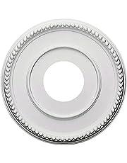 "Ceiling Medallion, 12-11/16"" OD x 3-15/16"" ID x 11/16"" P, Round, Polyurethane, Factory Primed - DHCM-05"