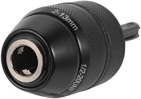 XCSOURCE/® Heavy Duty Profesional 1//2-20UNF 13mm portabrocas sin Llave con Adaptador SDS Hardware Herramienta BI480
