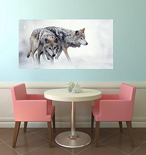 Pizarra magnética Pegatinas Wolf apto para Ikea Marcha: Amazon.es