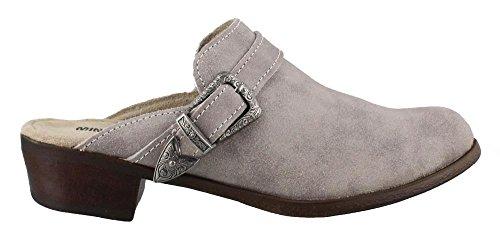 Marbled Leather Minnetonka Mule Grey Women's Billie S6ppnAtw