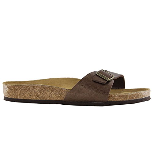 Birkenstock Sandals ''Madrid'' from Birko-Flor in Graceful Toffee 38.0 EU W