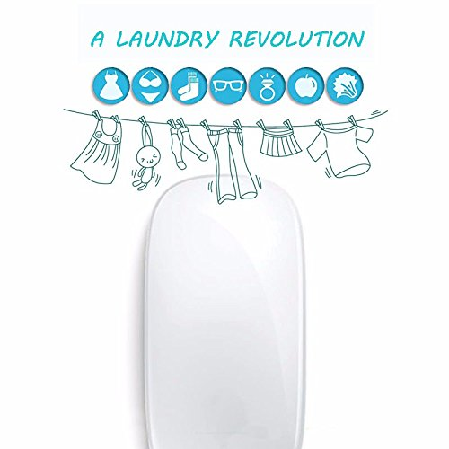 SZMWL Ultrasonic Laundry, USB Mini Portable Small Washing Machine For Clothes Vegetable Underwear by SZMWL