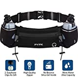 Upgraded Running Belt with Water Bottle, Waist Bag with Adjustable Straps for Men and Women, Large...