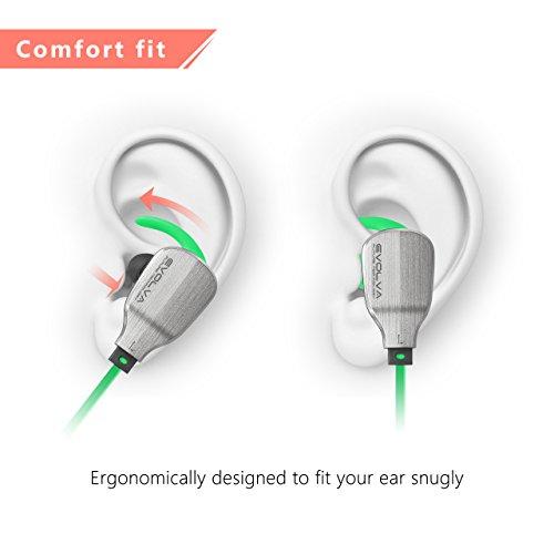 22248d0db3a 70%OFF Evolva Future Technology Deporte Auriculares Bluetooth In-Ear Con MicrÓFono  Incorporado Para