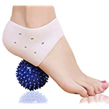DR JK- Plantar Fasciitis, Heel, Arch and Ankle Support, Massage Ball PedPal Kit for Women and Men
