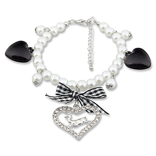 Tillberg Design Damen-Armband Kristall weiß Rundschliff 21 cm - 4019498488609