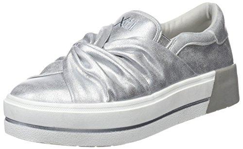 Sneaker Infilare Argento XTI Platinium 48026 Donna FZnxR8q