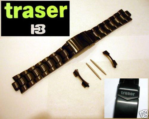 TRASER-Luminox-F-117-PVD-BLACK-WATCH-BAND-3400-22mm