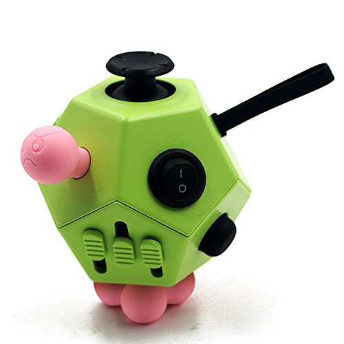 Fidget Cube Anxiety Attention Toy-Relieves Stress And Anxiety And Relax for Children and Adults (new green)