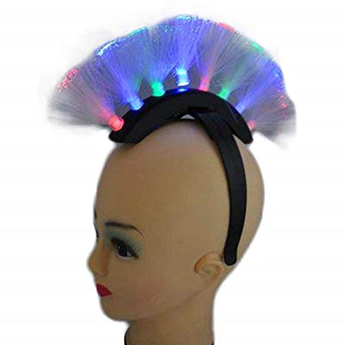 Toyland Rainbow Led Light Up Flashing Mohawk Headband (fl15) -