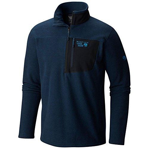 1/2 Zip Navy Fleece - 4