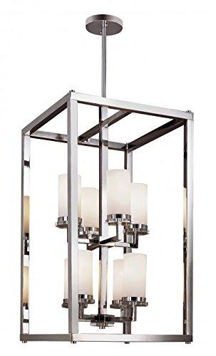 Trans Globe Lighting 70348 PC 8-Light Foyer Pendant - Adjustable Height, Polished Chrome by Trans Globe Lighting