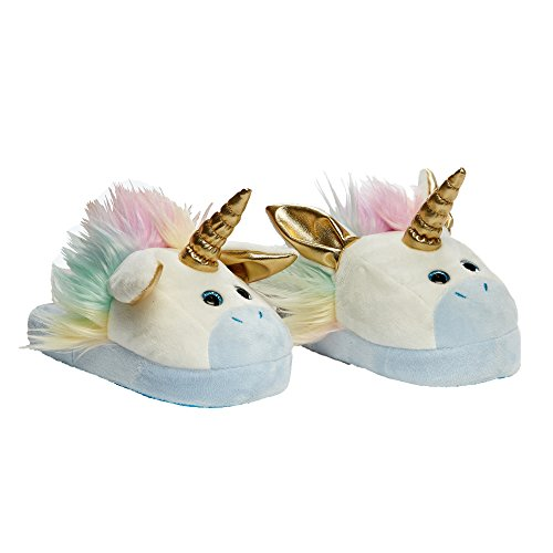 Animated Unicorn Plush Slippers
