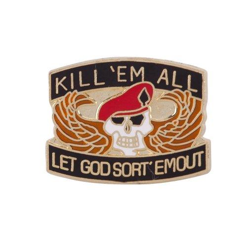 Price comparison product image Cloisonne Enamel Military Pins - Killem All OSFM