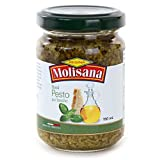 Regina Molisana Basil Pesto, Glass Jar, 150 milliliters