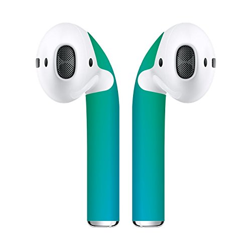 Airpod Skins Protective Wraps – Minimal Stylish Covers for Customization & Protection, Compatible with Apple AirPods (Deep Teal)