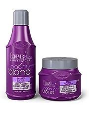 Kit Platinum Blond Manutenção Desamarelador Forever Liss