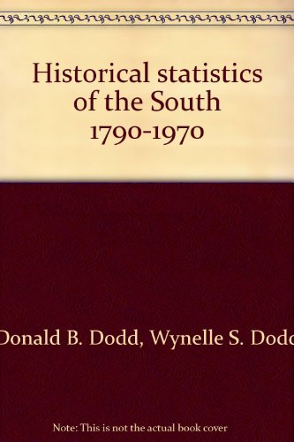 Historical statistics of the South 1790-1970: A Compilation of State-level Census Statistics for the Sixteeen States