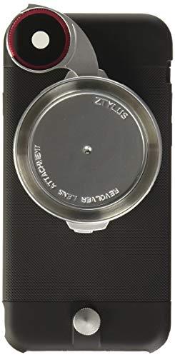 Ztylus iPhone 6s / 6 Lite Series Camera Kit w/ 4-in-1 Lens Attachment, Premium Matte Polycarbonate (Black)
