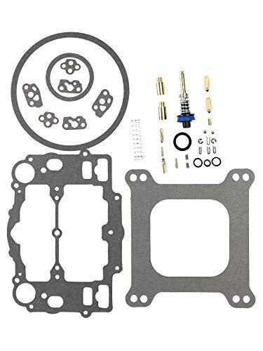 Carburetor Carb Rebuild Kit For Edelbrock 1400 1404 1405 1406 1407 1409 1411 1477 Fit Automotive 500 600 650 700 750 800 CFM Weber Marine Carburetor Mercruiser kit 809064 Carter 9000 Series 4 BBL (Carter Carburator)