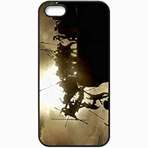 Personalized iPhone 5 5S Cell phone Case/Cover Skin 300 Black