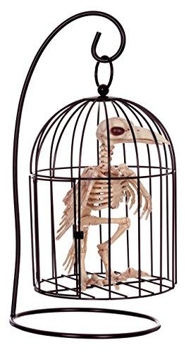 Crazy Bonez Skeleton Raven in Cage]()
