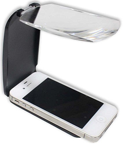2X Power Magnifier For Smart Phone Screen To Help You Read The Small Print On Your Phone