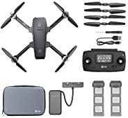 Holy Stone HS720 2K Drone and Spare Battery Set, Flight Time up to 52 Minutes