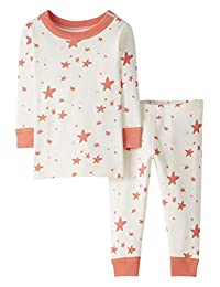 Moon and Back by Hanna Andersson Baby/Toddler 2-Piece Organic Cotton Long Sleeve