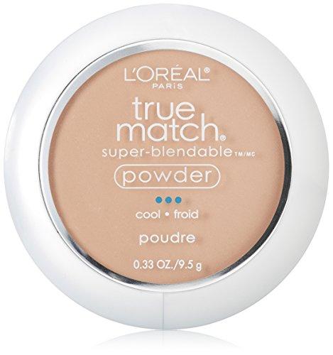 L'Oréal Paris True Match Super-Blendable Powder, Natural Ivory, 0.33 -