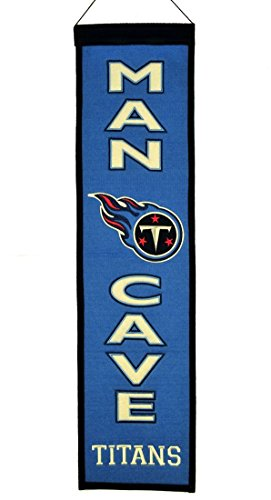 NFL Tennessee Titans Man Cave Banner