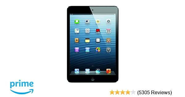 amazoncom apple ipad mini md528lla 16gb wi fi black slate tablet computers computers accessories