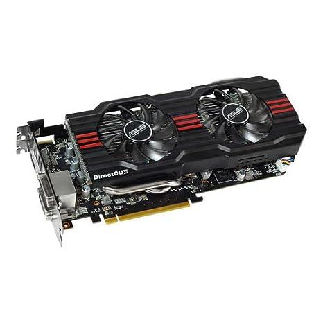 ASUS HD7870-DC2TG-2GD5-V2 AMD Radeon HD 7870 2GB - Tarjeta gráfica (AMD, Radeon HD 7870, 2560 x 1600 Pixeles, 2 GB, GDDR5-SDRAM, 256 Bit)