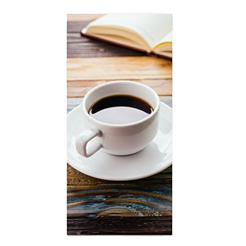 (Cafe Americano Printed Kitchen Towel Extra Absorbent Personalized Gift- For Bathroom/Kitchen)