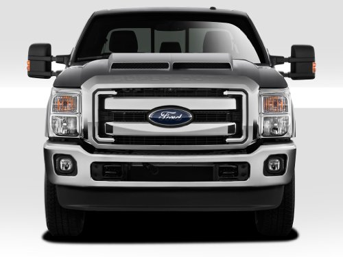 (Duraflex Replacement for 2011-2016 Ford Super Duty F250 F350 F450 GT500 Hood - 1 Piece)